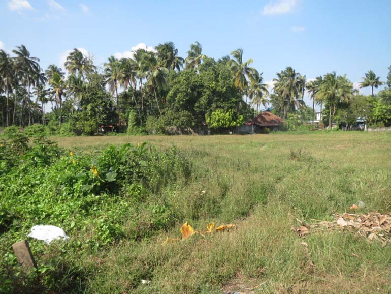 Square plot for sale at Thrissur