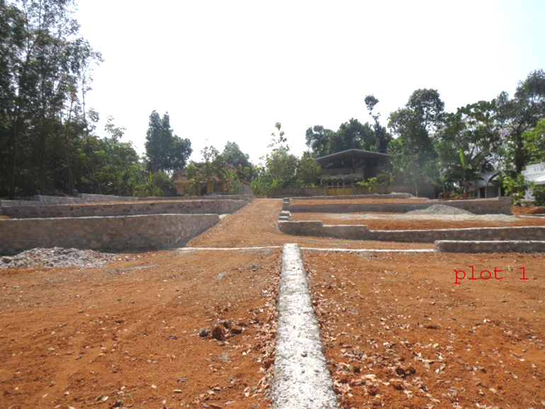 Housing plots for sale at Trivandrum Dist.