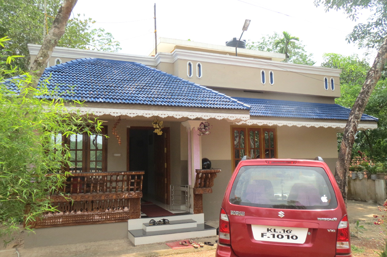 Land and House for sale at Trivandrum