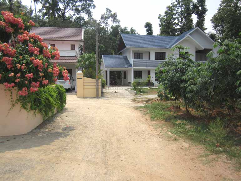Land and House for sale at Kottayam Dist.