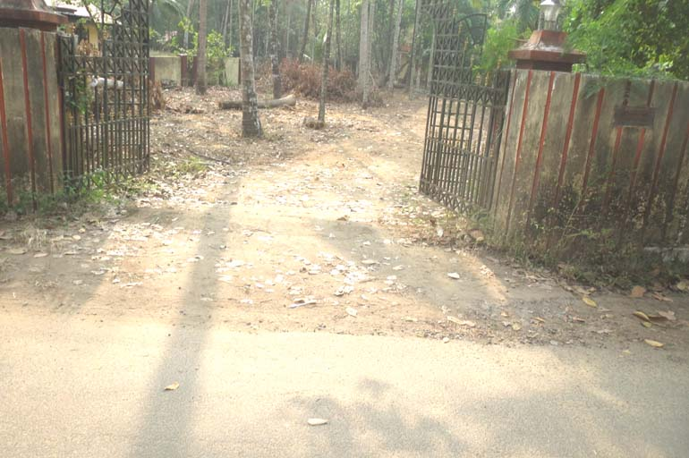 LAND AND HOUSE FOR SALE AT THRISSUR DIST